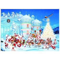 Christmas Toy Factory Jigsaw Puzzle