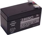 Rhino Batteries Sla 1.2-12 Sealed Lead Acid Rechargeable Battery