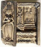Angkor Wat Apsaras Cambodia Khmer High Quality Resin 3D fridge Refrigerator Thai Magnet Hand Made Craft.