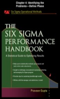 The following is a chapter from Praveen Gupta's The Six Sigma Performance Handbook, which gives results-oriented help with Six Sigma initiatives