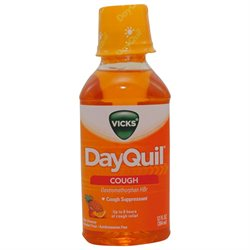 Vicks Dayquil Cough Liquid, 12 Oz