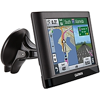 Garmin Nuvi 55 Automobile Portable Gps Navigator - Portable - 5-inch - Microsd - Turn-by-turn Navigation, Lane Assist, Junction View, Voice Prompt - Usb - 2 Hour - Preloaded Maps - Car - Wqvga - 480 X 272 010-01198-09