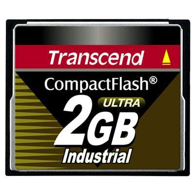 Transcend Ts2gcf100i Ultra Speed Industrial - Flash Memory Card - 2 Gb - Compactflash