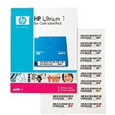 Hewlett Packard Enterprise Q2009a Ultrium 4 Rw Bar Code Label Pack - Bar Code Labels - For  Msl2024  Msl4048  1/8 G2 Tape Autoloader  Lto-4 Ultrium  Storeever U