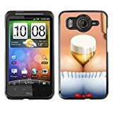Exotic-Star ( Funny Beer Brest Octoberfest ) Snap On Hard Protective Case For HTC Desire HD / Inspire 4G