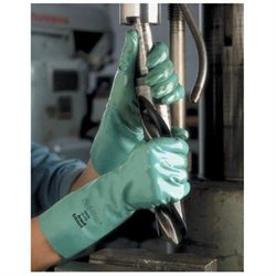 Ansell Size 10 Green Sol-Vex 15 Unlined 22 Mil Nitrile Glove