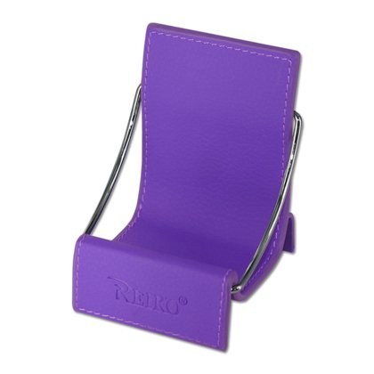 Fashionable Universal Cell Phone / Camera / PDA / MP3 MP4 / Electronics / Card Holder / Holster / Cradle / Mount / Chair Desk Stand Display - PURPLE