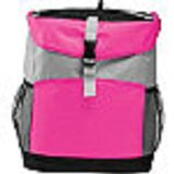 Pink Insulated Backpack Cooler