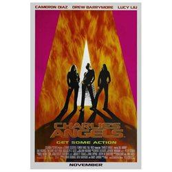 Charlie's Angels Poster Movie B 27 x 40 In - 69cm x 102cm Drew Barrymore Cameron Diaz Lucy Alexis Liu Bill Murray Tim Curry Sam Rockwell