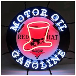 Neonetics Neon Signs - Red Hat Gasoline