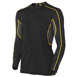 DeMarini Mens Comotion Game Day Long Sleeve T Shirt Black (Medium)