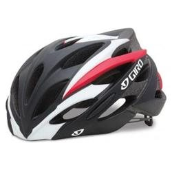 Giro 2013 Savant Road Cycling Helmet (Matte Black/Red - M)