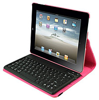 2cool 2c-rtck03-pnk Detachable Bluetooth Keyboard Case For Ipad 2, Ipad 3, Ipad 4 - Pink