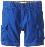 Levi's Baby-Boys Infant Cargo Pocket Short, Sample Blue, 24 Months