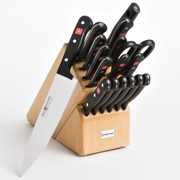 Wusthof Gourmet Knife Block Set - 18-piece