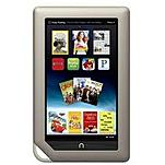 The Barnes   Noble NOOK eReader is designed with a stunning 7 inch display that allows you to read your favorite novels and magazines with high clarity and minamal reflection and glare