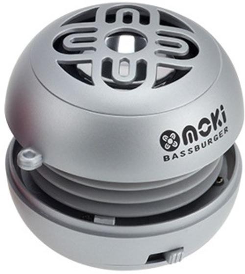 Moki Accbb-s Bassburger Portable Bluetooth Pocket Speaker - Silver