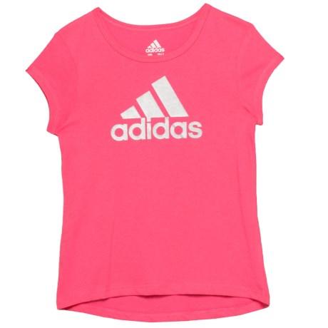 Cotton T-shirt - Short Sleeve (for Little Girls)