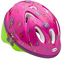 This Schwinn 038675106857 Girls Helmet is great for your child while riding with safety