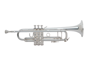 Bach 180s37 Stradivarius Pro Bb Trumpet With 37 Bell In Silver Finish