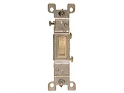Single Pole Toggle Switch Ivory 15 Amps Leviton Mfg Receptacles And Switches