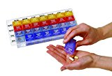 Apothecary Products Weekly Med-Control Tray Pill Planner, 0.68 Pound