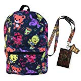 FNAF Five Nights at Freddy's School Backpack Luggage Bag with Lanyard (Chibi FNAF)