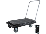 Deflect-o CRT530004 Heavy-Duty Platform Cart, 300-lb Capacity, 33
