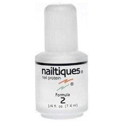 Nailtiques Nail Protein Formula 2 Treatment (For Soft, Peeling, Bitten, Weak or Thin Nails)