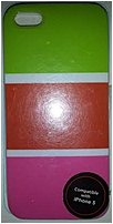 Couture 890968405609 Case For Iphone 5 - Green, Orange, Pink