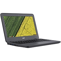 "Acer Chromebook 11 N7 C731t-c42n 11.6"" Touchscreen Chromebook - Intel Celeron N3060 Dual-core (2 Core) 1.60 Ghz - 4 Gb Lpddr3 - 16 Gb Flash Memory - Chrome Os - 1366 X 768 - Cinecrystal, In-plane Switching (ips) Technology - Gray - Intel Hd Graphics 400 L Nx.gm9aa.001"