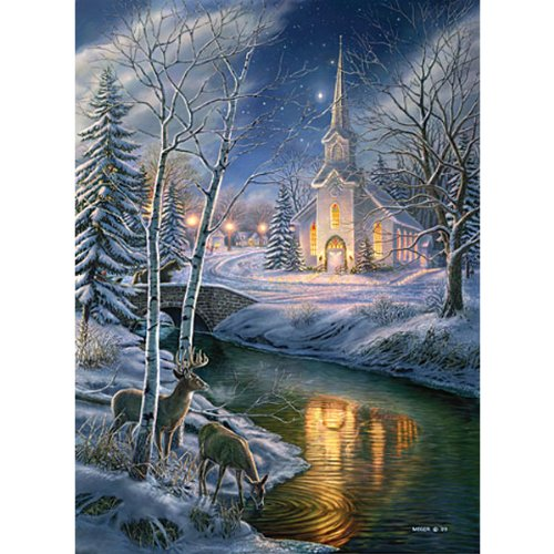 James Meger O Holy Night 1500Pc Jigsaw Puzzle