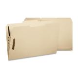 Folder, 2 Fasteners, 1/3 Pos, Letter, 12/PK, Manila