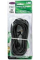 Belkin Components A3l79125blks 25 Feet Patch Cable For Mac, Network And Pc - 2 X Rj45 Male - Cat5e Patch Snagless Molded - Black