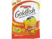 Goldfish Crackers, Cheddar, Single-Serve Snack, 1.5Oz Bag, 72/Carton Type: Snacks & Condiments