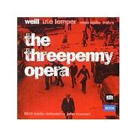 Kurt Weill - Threepenny Opera (Lemper/Kollo/Mauceri) (Music CD)