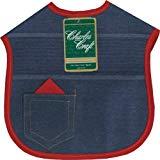 DMC BB3500-5830 Cotton/Polyester Denim Darling Baby Bib