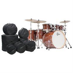 Gretsch Catalina Maple 7 Piece Drum Kit w/Hardware & Bags-Walnut Glaze