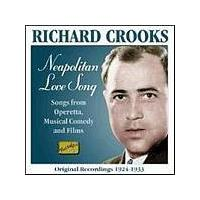 Richard Crooks - Neapolitan Love Song (Music CD)