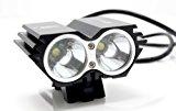 RioRand® 1500 Lumen 2x CREE XML U2 LED Cycling Bicycle Bike Light Lamp HeadLight Headlamp