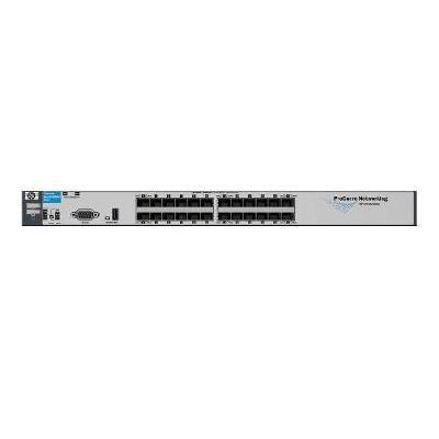 E6200-24G-mGBIC yl Switch - switch - managed - rack-mountable