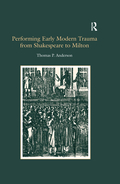 An examination of political and cultural acts of commemoration, this study addresses the way personal and collective loss is registered in prose, poetry and drama in early modern England