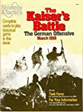 SPI: Kaiser's Battle Board Game Only [Originally Published in Strategy & Tactics #83, offered here as Game Only, no magazine]