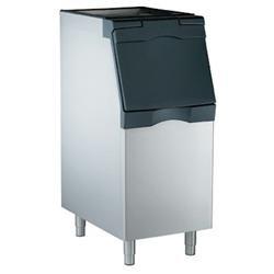 Scotsman B322S Ice Machine Bin 370 Pound Stainless Steel Exterior