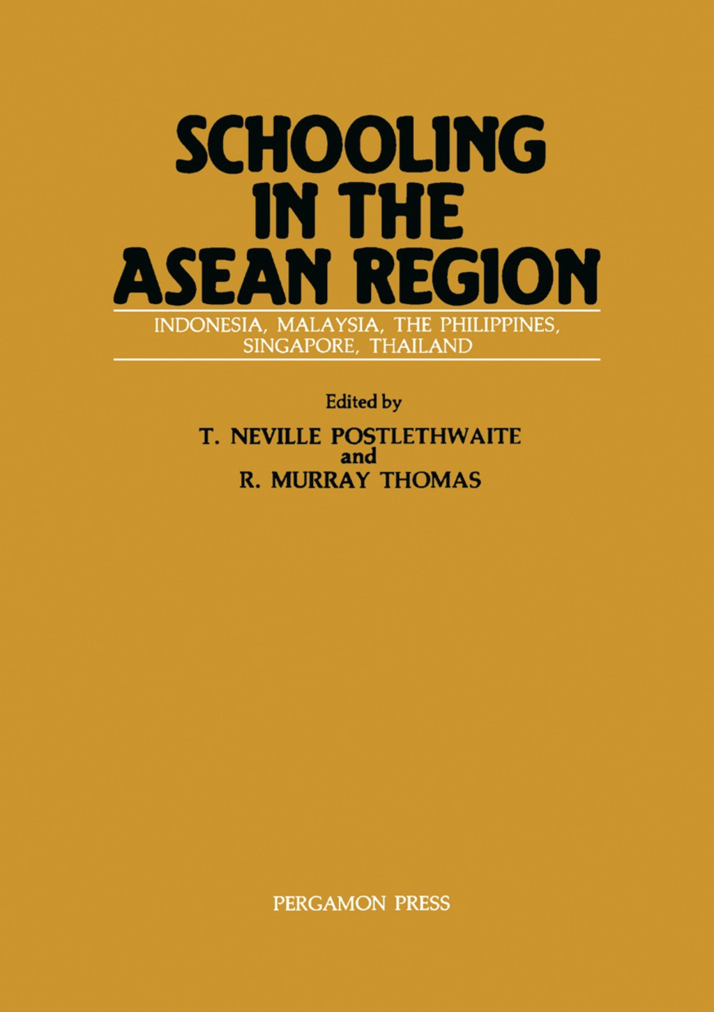 Schooling In The Asean Region (ebook)