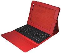 Ergoguys 2c-tck02c-red Ipad Portfolio With Bluetooth Keyboard - Red
