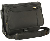 The Meridian Messenger Case from Targus is designed to fit laptops up to 15.6 inch widescreens with large storage capacity in a stylish design