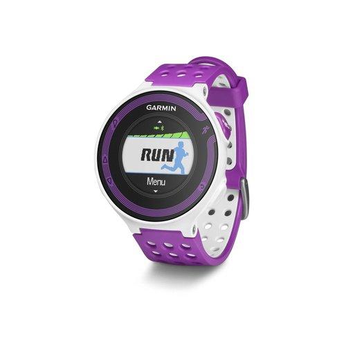 Garmin Forerunner 220 010-01147-01 Gps Watch - White/violet