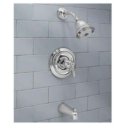 Portsmouth Flowise Bath/Shower Trim Kit - Finish: Blackened Bronze PVD