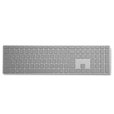Microsoft 3yj-00022 Surface Keyboard - Keyboard - Wireless - Bluetooth 4.0 - English - North American Layout - Gray - Commercial
